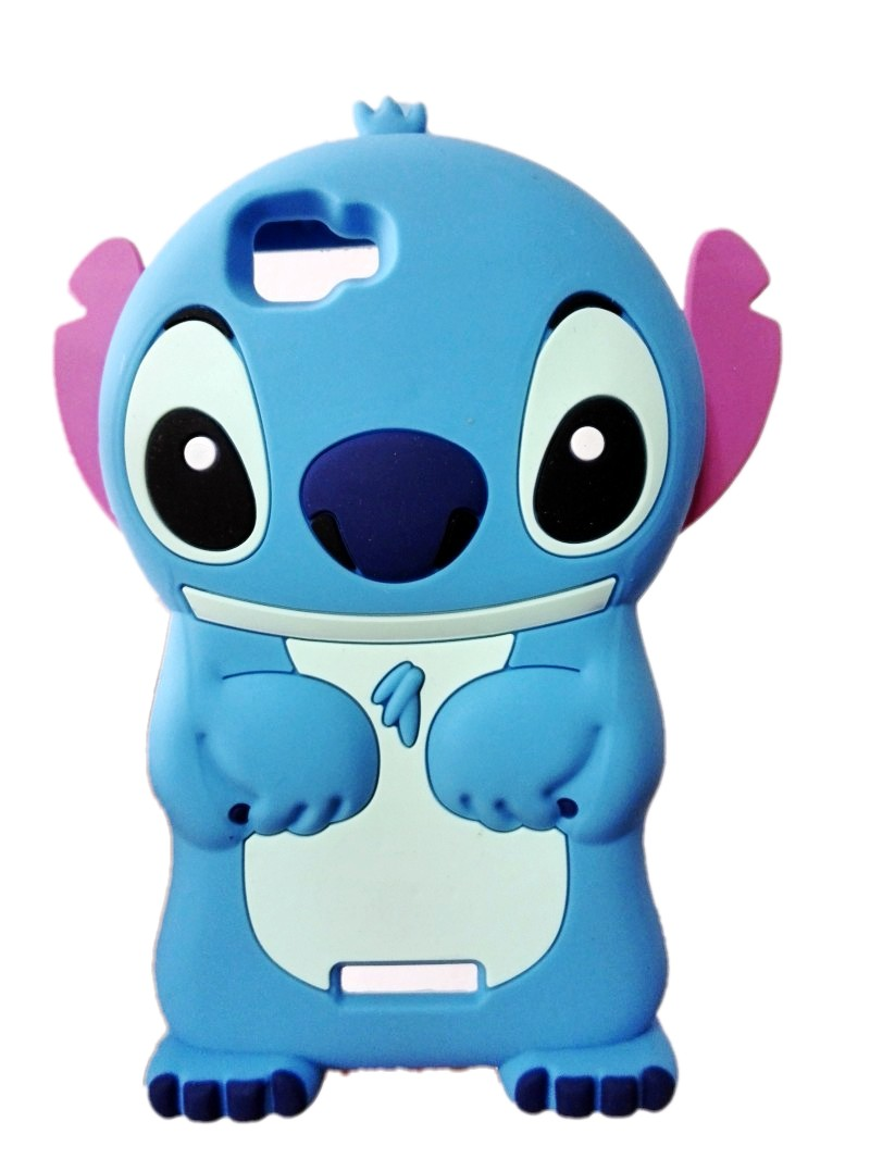 Wiko Rainbow Case 3D Cartoon Stitch Cute design Soft Rubber Silicon Back Cover - Fashion Phone Cases Mall store