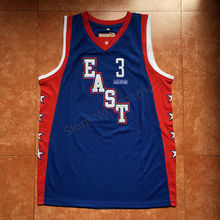 d54953738d9 New #3 Allen Iverson 2004 All Star Game Throwback Men's Basketball Jersey (China)