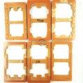 6 pcs titular molde remodelação aparelhos para colar lcd outer vidro para samsung galaxy s2 s3 s4 s5 s6 s7 cola uv molde alinhamento
