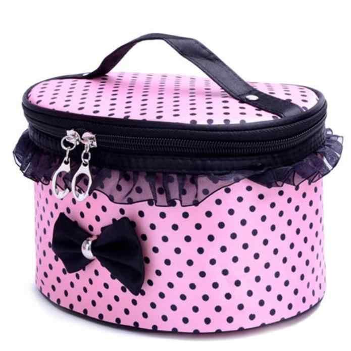 Yay kadın makyaj çantası moda seyahat organizatör kozmetik çantası profesyonel makyaj çantası bavul makyaj çantası kılıfı güzellik çanta # H35