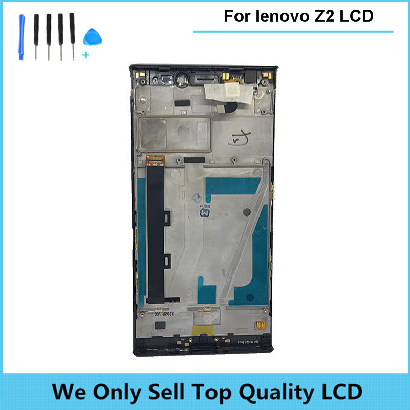 Compatible For Lenovo Vibe Z2 LCD Display Touch Screen Assembly With Frame K920 mini 5.5 inches Replacement Parts Free Shipping аксессуар чехол lenovo k10 vibe c2 k10a40 zibelino classico black zcl len k10a40 blk