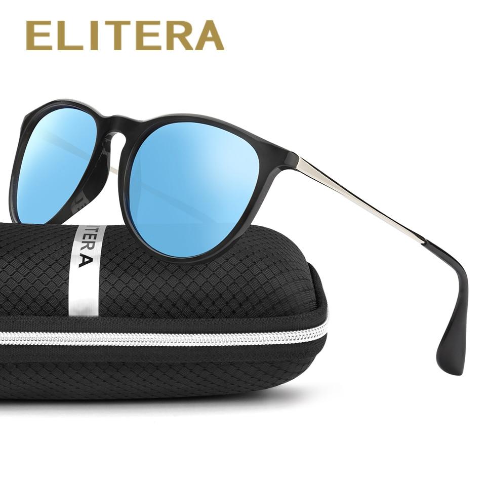 Gafas de Sol ELITERA Mujeres Hombres Gafas de Sol Polarizadas Femeninas Para Conducir Al Aire Libre de Lujo Damas Tonos Accesorios Con Estuche