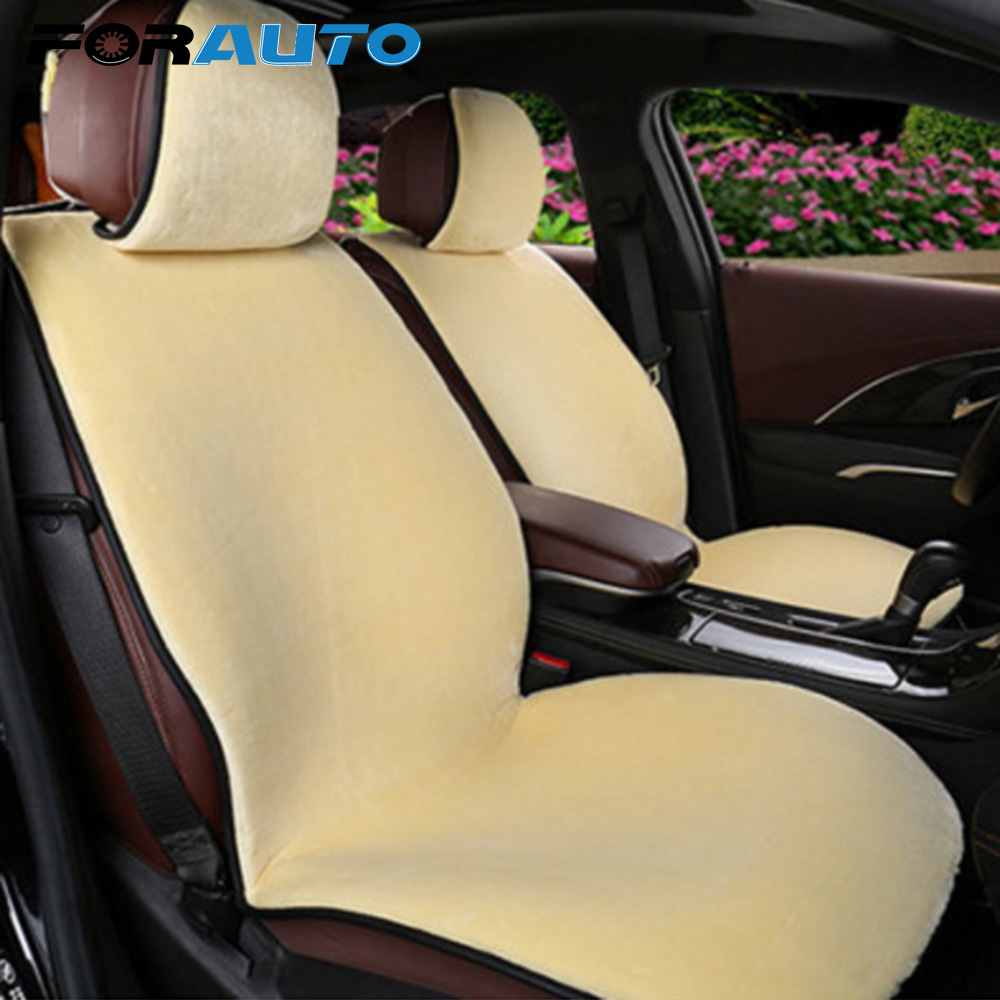 FORAUTO Car Seat Cushion Pad Warmer Winter Supply Automobiles Seat Covers Car-styling Universal Car Seat Accessories