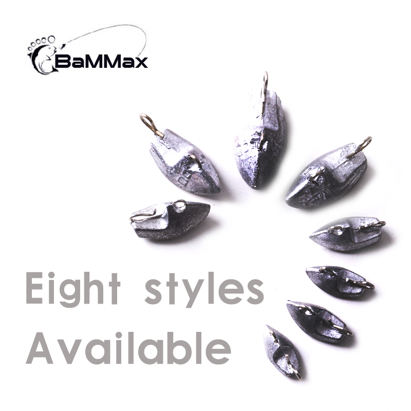 Bammax fishing Universal lead weight 10pcs 3 2g 4 2g 5 3g 6 5g 9 5g match crank hook jig head fly fishing accessories tackle in Fishhooks from Sports Entertainment