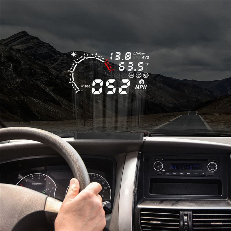 AUTOOL X230 OBD HUD Head Up Display 5.5