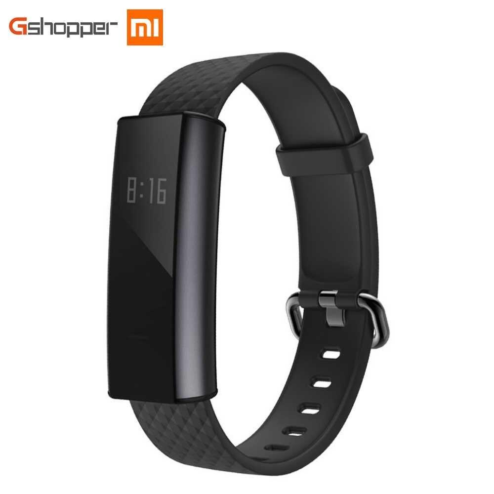 Versione inglese Huami AMAZFIT ARC Banda Intelligente Bluetooth 4.0 Wristband Bracciale Sonno Tracker Heart Rate Monitor 20 Giorni Batteria