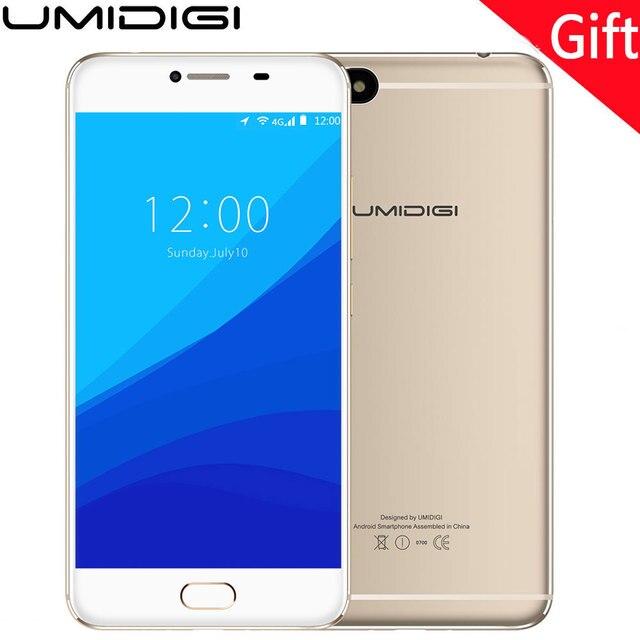 "UMIDIGI C Note Android 7.0 Auto Focus 13MP Camera Unlocked Mobilephone 5.5"" 3G RAM 32GB ROM 3800Mah Smartphone 4G Lte Phones"