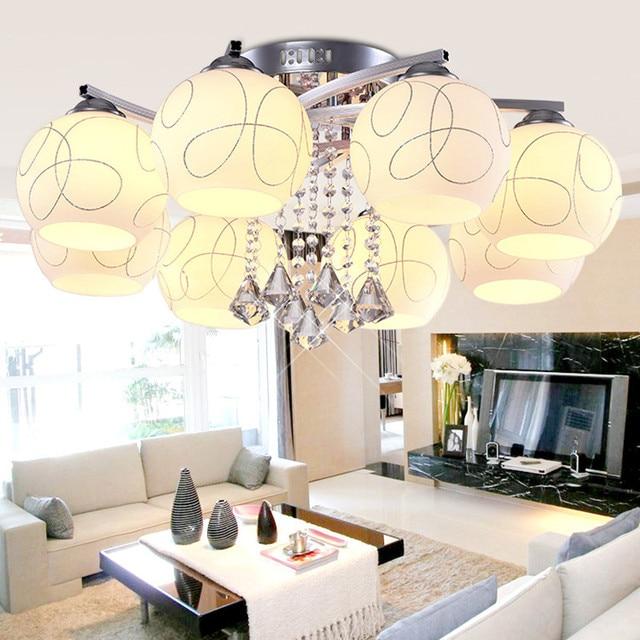 Tienda online moderno minimalista luz de techo 3 5 8 cabezas de ...