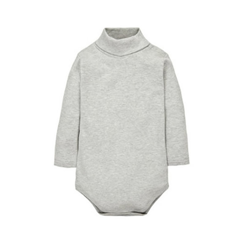 12-Color-Baby-Clothes-0-24M-Newborn-baby-boy-girl-clothes-Jumpsuit-Long-Sleeve-Infant-Product-solid-turtleneck-Baby-Rompers-2