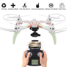 WLtoys Q696E 2.4G 6-Axis Gyro Wifi 720P HD Camera RC Quadcopter Drone with One-Key-Return Set Height Drone RTF