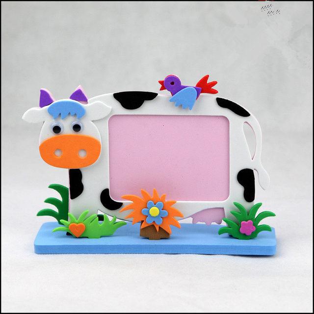 Online Shop 2 piece Kids DIY EVA Photo Frame Foam Craft Kits ...