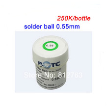 1pcs Lead Solder Balls 250K PMTC 0.55mm Solder Ball For BGA Reball