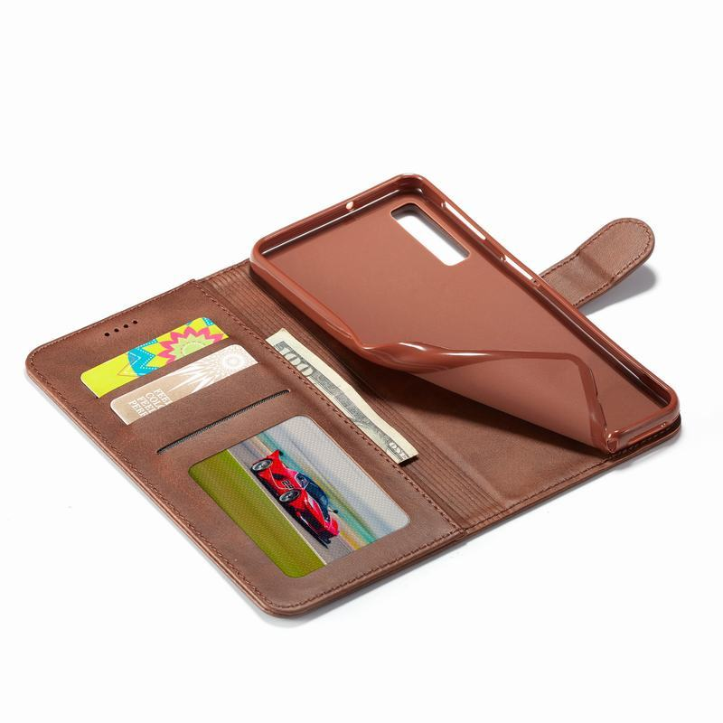 HTB14HfzOhYaK1RjSZFnq6y80pXas Phone Case For Samsung Galaxy A50 Case Luxe Leather Flip Wallet Cover For Samsung A50 A 50 Phone Bag Case Galaxy A50S A30S Coque