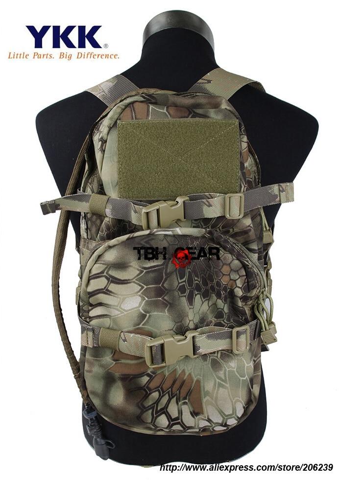 TMC Modular Assault Pack With Water Bladder 3L Hydration Bag In Kryptek Mandrake Free shipping SKU12050348