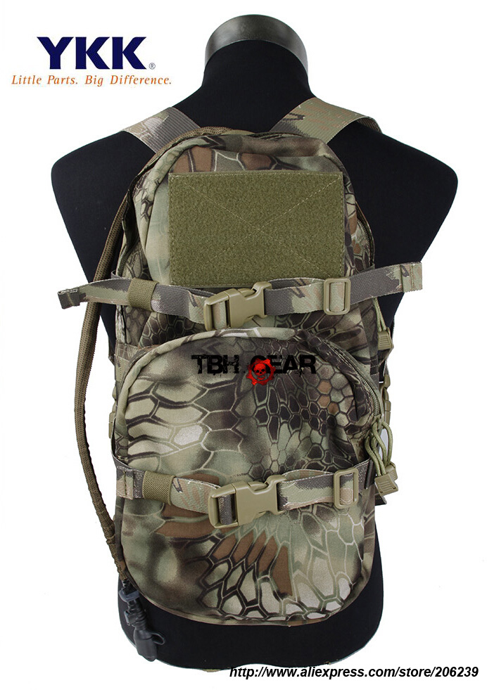 TMC Modular Assault Pack With Water Bladder 3L Hydration Bag In Kryptek Mandrake+Free shipping(SKU12050348) global elementary coursebook with eworkbook pack