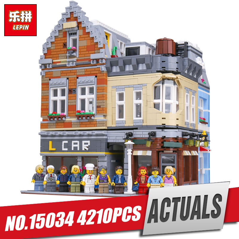 Lepin 15034 4210Pcs Genuine MOC Series The New Building City Set Building Blocks Bricks Educational Legoing Toys Model Gifts садовый совок truper ggtl tr 15034