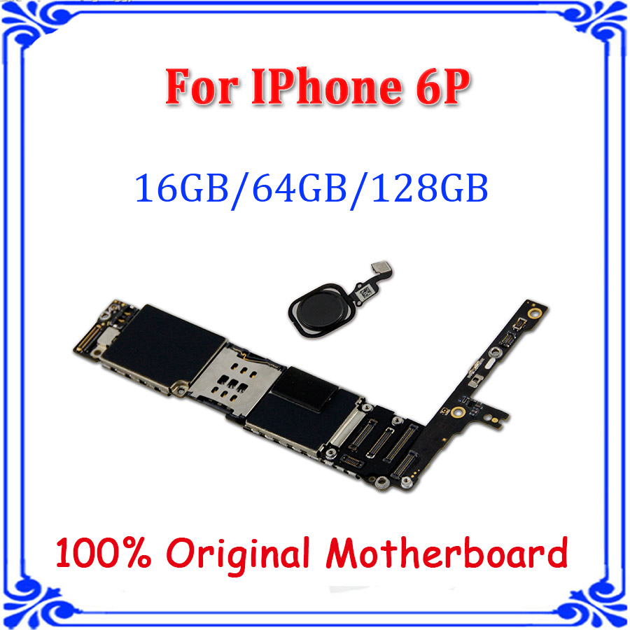 64gb Complete Logic Boardfor Iphone 6 Plus Motherboard Without Circuit Diagram 16gb 128gb For With Black Touch Id Full Unlocked