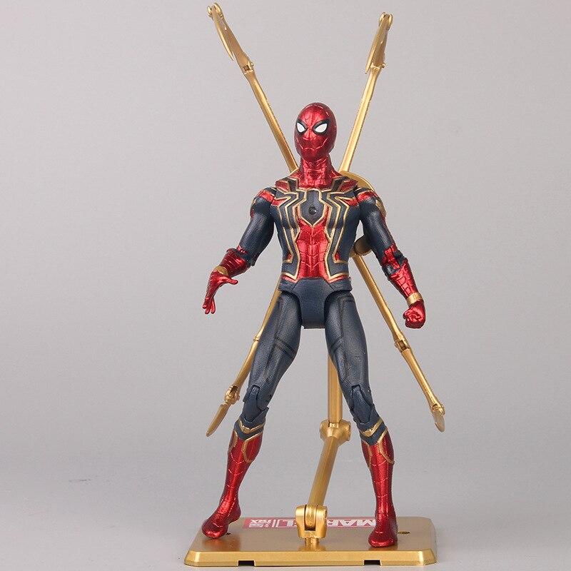 avengers-3-infinite-war-spider-man-action-figure-toy-model-joint-movable-light-font-b-marvel-b-font-movie-hero-model-desktop-decoration-boys