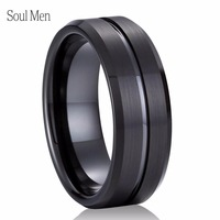 Womens Mens 5MM 6MM 7MM 8MM Wide 316L Stainless Steel Classic Plain Wedding Band Ring Polished