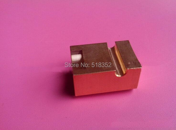 20EC090A401 Makino Lower Machine Head Power Supply Block in Brass  WEDM LS Wire Cutting Machine Parts|block machine|block block|block head -