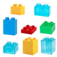 Big Building Blocks basis Bricks Accessory Compatible With Duplos base plate Transparent Square Toys for Children Boy Girl Gift