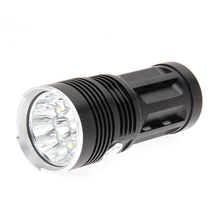 25000 Lumens 10Leds XM L T6 LED Flashlight Torch 4 x 18650 Rechargeable Battery Hunting
