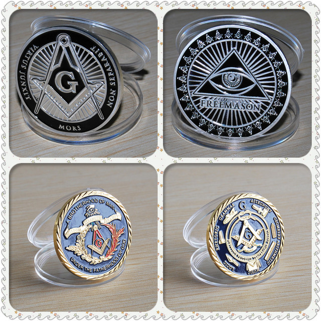 5802fa0356e95 Free shipping Mix order 25+25 Masonic
