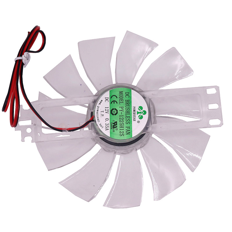 1 pcs DC 12V Brushless Fan Chicken Incubator Accessories Cooling Fan Transparent Color Plastic Material 11 Fan Leaves