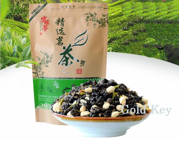 250g Jasmine Flower Tea,Chinese Flower Green Tea Jasmine ,Organic Jasmine Flower Green Tea ,Keep Beauty free shipping jasmine 30g tank flower tea green tea chinese tea