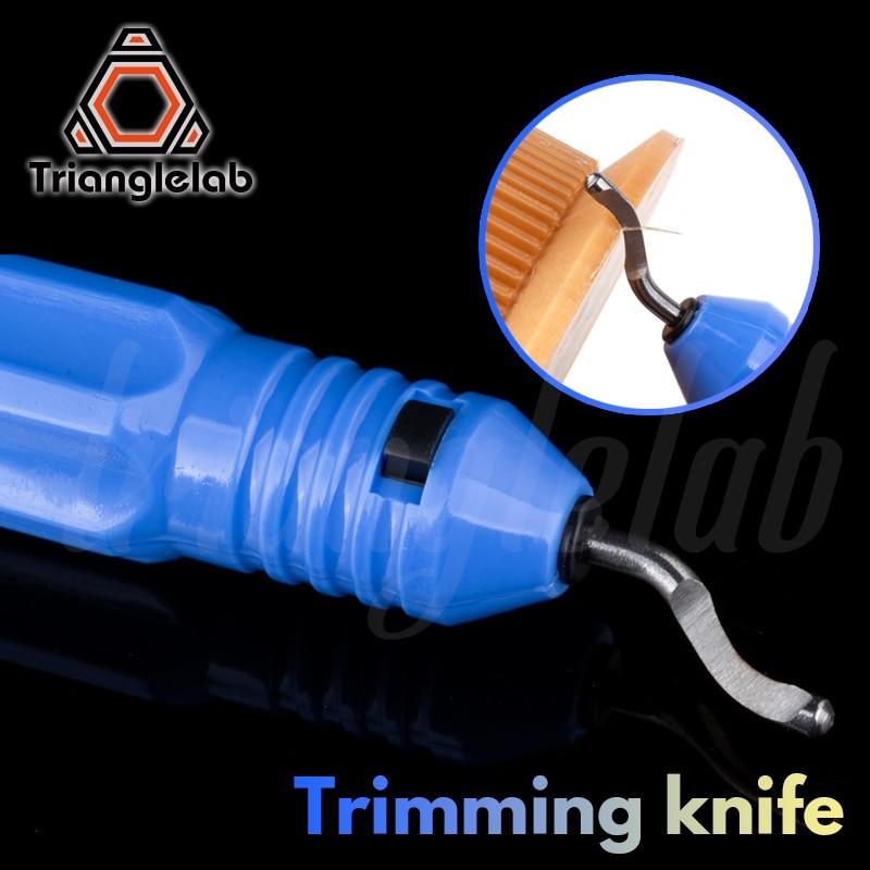 Trianglelab couteau de coupe grattoir impression 3D outil de coupe imprimante 3D outil PLA ABS PETG matériel modèle élagage dispositif de coupe