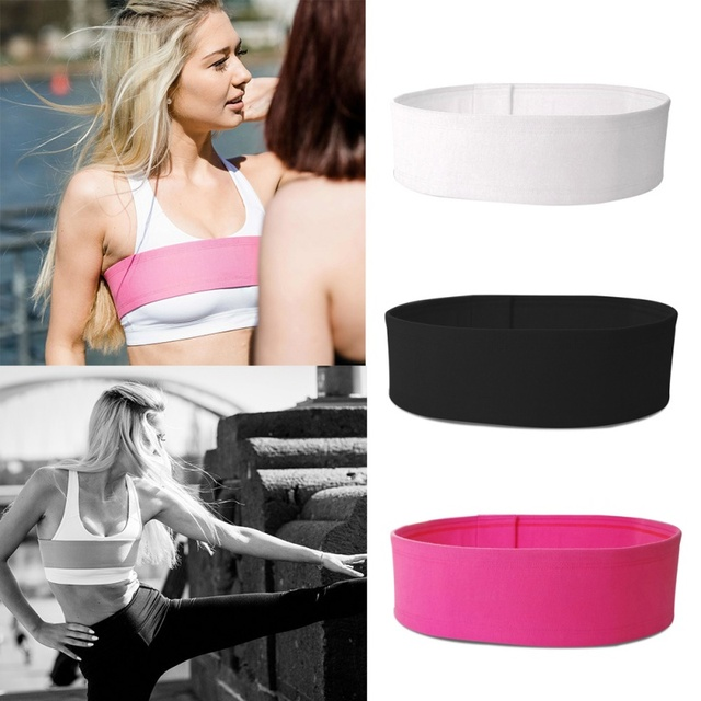 1 Pcs Breast Support Anti Bounce No-Bounce Adjustable Training Athletic Chest Wrap Belt Sports Bra Alternative Accessory 3