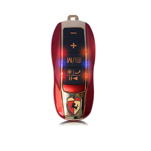 ZK20 B12 динамик Bluetooth Поддержка звонков Hands-Free Телефон Анти-потерянный функции автоспуска мини модель автомобиля карта динамики