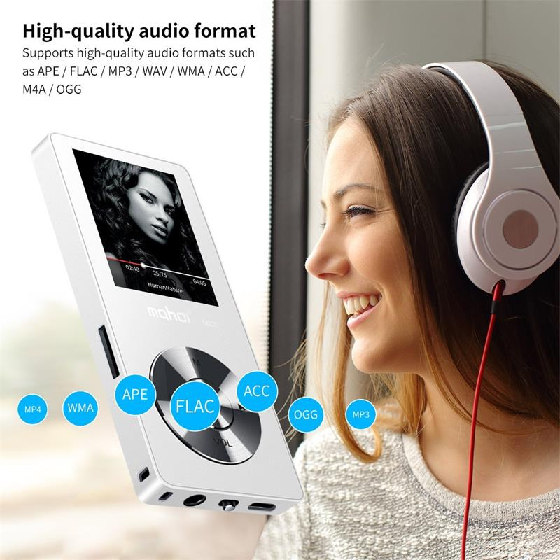 Built-in Speaker mp3 music player 8GB/16GB Sport lossless sound player 1.8inch TFT Screen with FM Radio, Video, E-book Function