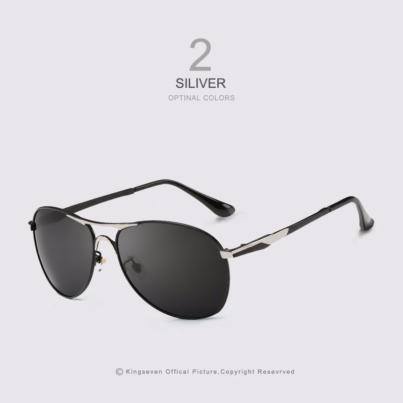 High Quality Polarized Sports Sunglasses Men Brand Designer UV protection KINGSEVEN Sun Glasses Driving Eyewear Male masculino 2