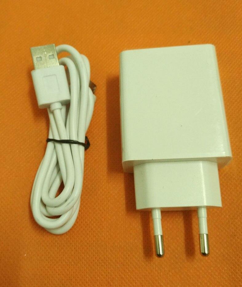 Старые оригинальные 2.0A путешествия Зарядное устройство ЕС штекером + USB кабель для <font><b>Ulefone</b></font> Мощность MTK6753 Octa Core 5.5 дюймов Бесплатная доставка