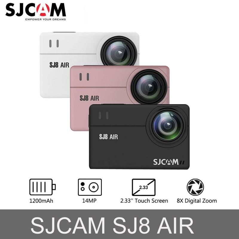 D'origine SJCAM SJ8 Air écran tactile 14MP caméra d'action WiFi 1200 mAh dvr hd Caméscope télécommande 30 m Étanche Sport Caméra