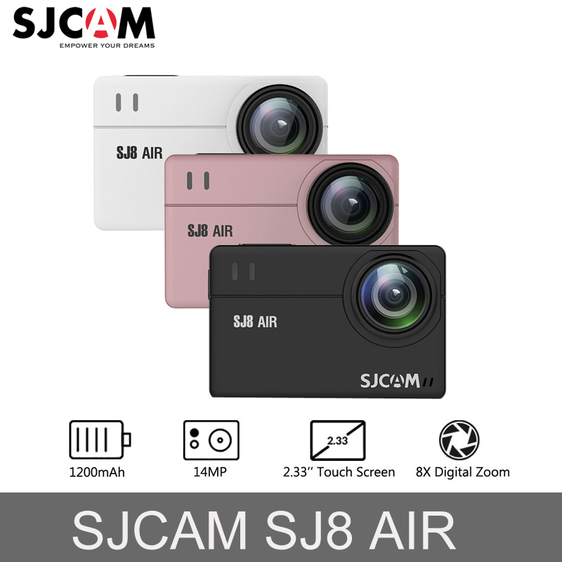 Original SJCAM SJ8 Air Touch screen 14MP Action Kamera WiFi 1200 mah HD DVR Camcorder Fernbedienung 30 mt Wasserdicht sport Kamera