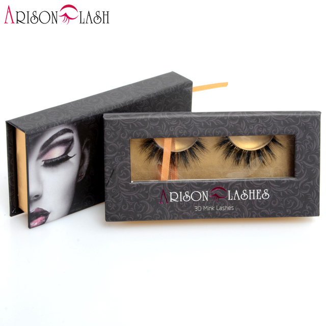 new arrival 3D false lashes extension fashion style premium handmade 100% real siberian mink full strip eyelashes free shipping