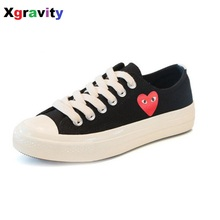 Hot Sale New Unique Design Ladies Heart Shaped Elegant Comfortable Lady Casual Woman Shoes Leisure Woman's Student Footwear C070