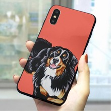Shepherd Dog Soft TPU Cover for iPhone SE Pattern Phone Case for iPhone 6 6S Plus 7 8 X Xs Max XR 5 5S Cases Back цена и фото