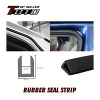 12x9mm U Pillar 5901500cm Car Door Edge Interior Rubber PVC flexible Strip Seal Trim Universal All Weather Crashproof 63#