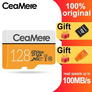Image 1 - CeaMere מיקרו SD כרטיס 256 GB/128 GB/64 GB UHS 3 32 GB/16 GB/8 GB Class 10 UHS 1 4GB כרטיס זיכרון פלאש זיכרון Microsd משלוח Crad Reader