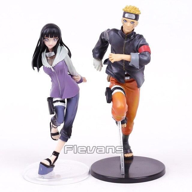 Naruto Shippuden uzumaki naruto y hyuuga hinata PVC figuras coleccionables  modelo Juguetes brinquedos 2 unids  847ecca6459