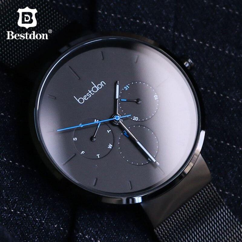 Switzerland Fashion Brand Men Watch Bestdon Geek Designer Luxury Waterproof Sports Man Watch Students Relogio Masculino 99125 3-in Quartz Watches from Watches    1