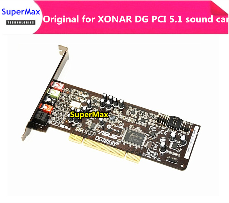 FOR ASUS XONAR DG PCI 5.1 Sound Card Used