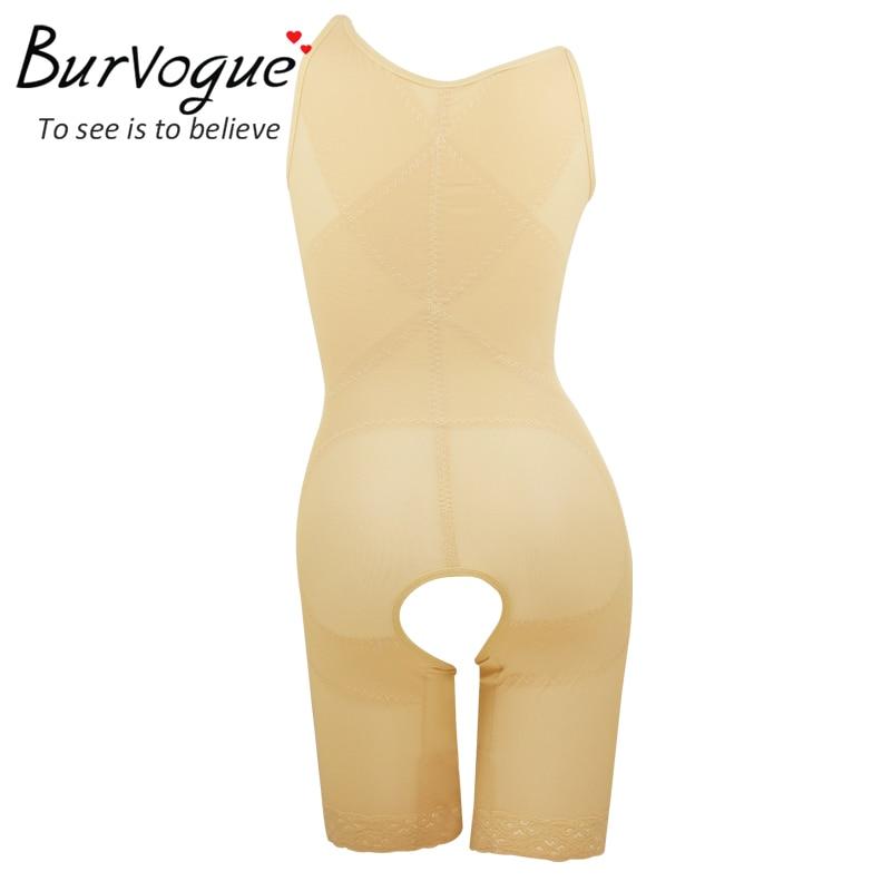 ebab4978e1 Burvogue Hot Women Full Body Shaper Shapewear Slimming Butt Lifter and Tummy  Timmer Shaper Underwear Firm Waist Control Shaper -in Bodysuits from Women s  ...