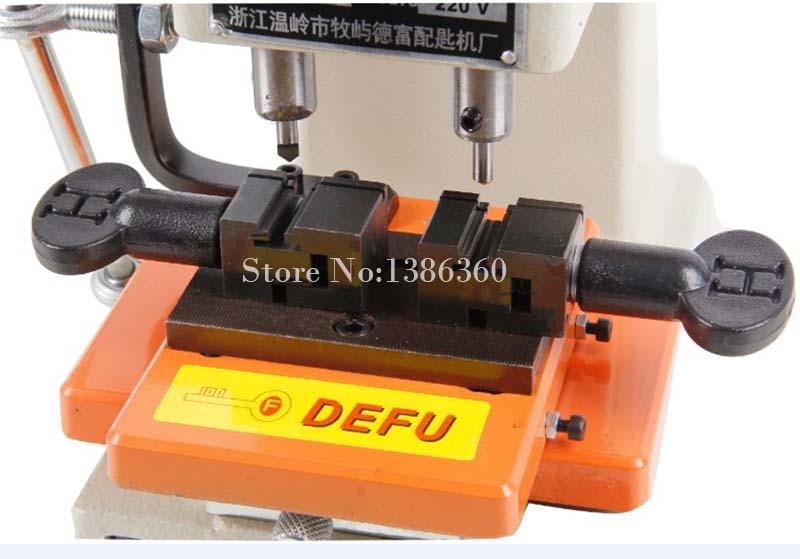 Купить с кэшбэком Newest Laser Defu Cutter Key Cutting Machine 368a With Full Set Cutters Tools Parts CP465