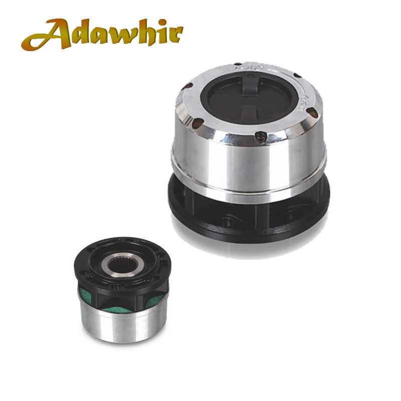2 pieces x For Ssangyong Korando II, Musso SUV Rexton/TD, Musso Pickup 1995 up (AT) 4x4 Manual locking hubs B035 AVM450