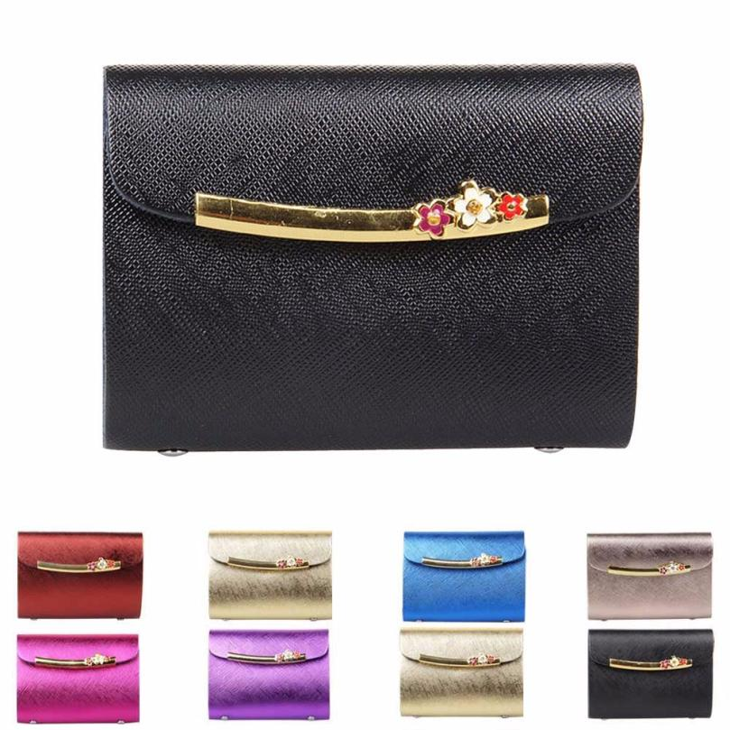 New Luxury 26 Card Places Leather Card Holder Bank Credit Pack ...