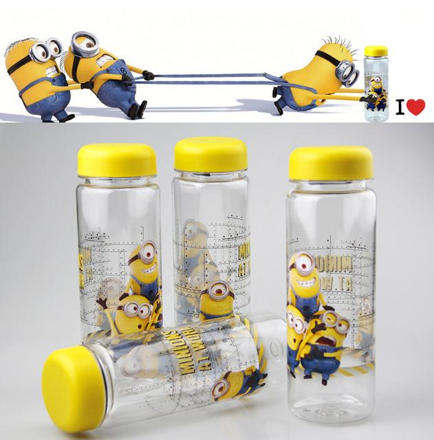 Despicable Me Minions Plastic Water Bottle for Children